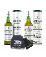 Laphroaig Quarter Cask Bundle Beanie Hat and Whisky Stones