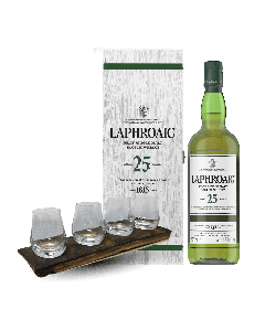 25 YO Cask Strength Glasses - Christmas Bundle Laphroaig