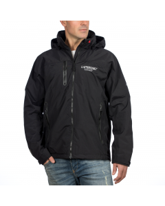 Laphroaig Musto jacket - weatherproof coat - fitting view