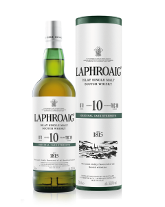 Laphroaig 10 YO cask strength batch 011