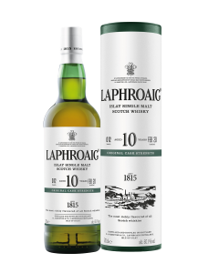 10 YO cask strength batch 012 Laphroaig