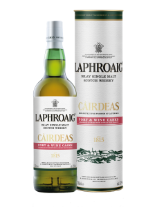 Cairdeas port & wine bottle tube Laphroaig