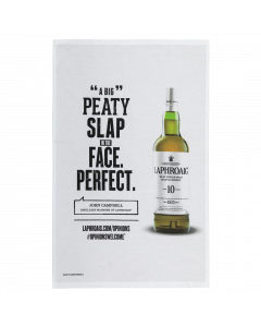 Opinions Welcome Tea Towel - Official Laphroaig Merchandising