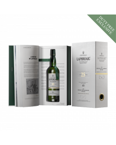 25 Year Old the bessie williamson story bottle book laphroaig