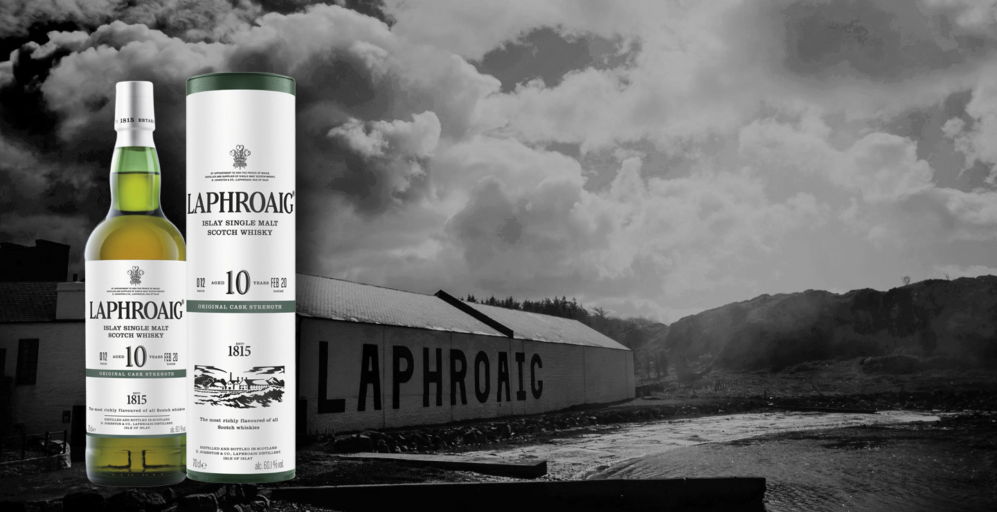 Laphroaig 10 Year Old Cask Strength - Batch 12 EN