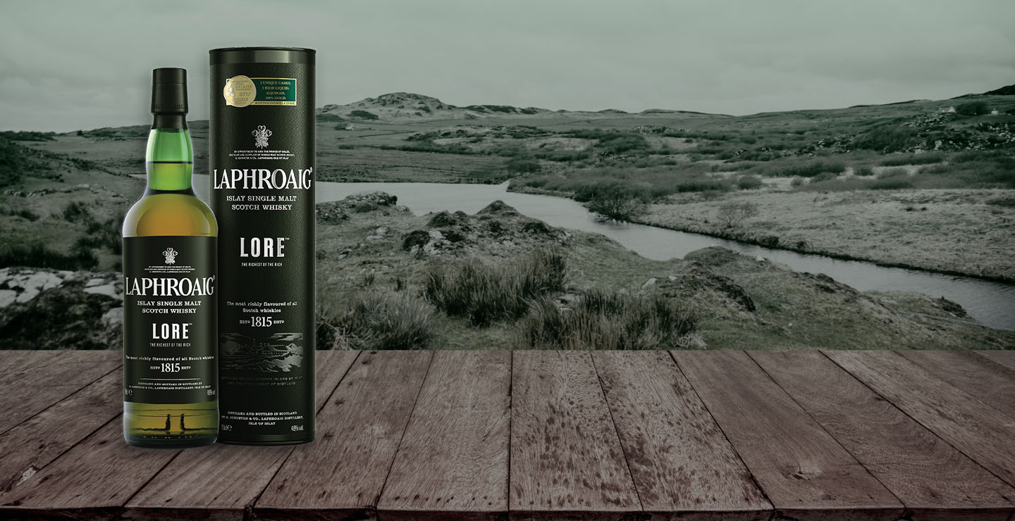 Laphroaig Lore slide UK